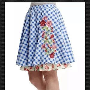 New Matilda Jane Women's Dutch apple skirt L